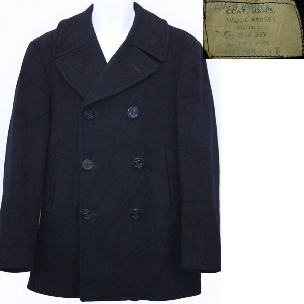 The naval peacoat is flattering, handsome, and is suitable for both casual situations and going out