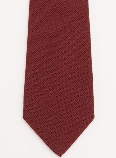 The silk grenadine tie