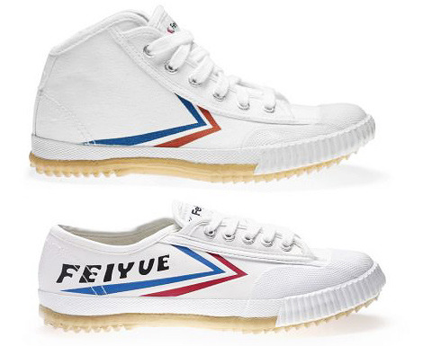 Feiyue shoes are the people's sneaker of China