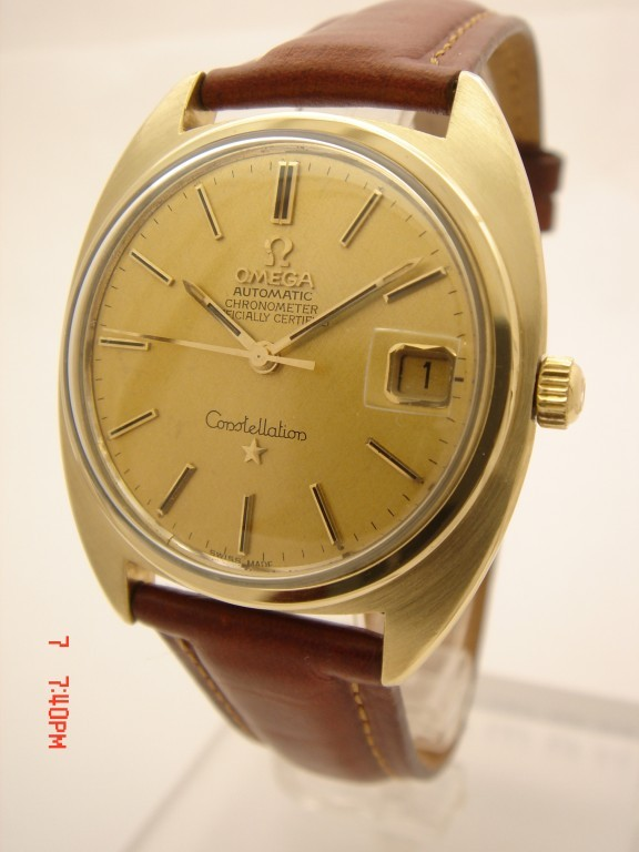 It's On Ebay! Vintage Omega Constellation in 14k Gold