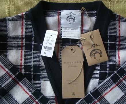 It's On Ebay! - Brooks Brothers Black Fleece Cashmere Cardigan