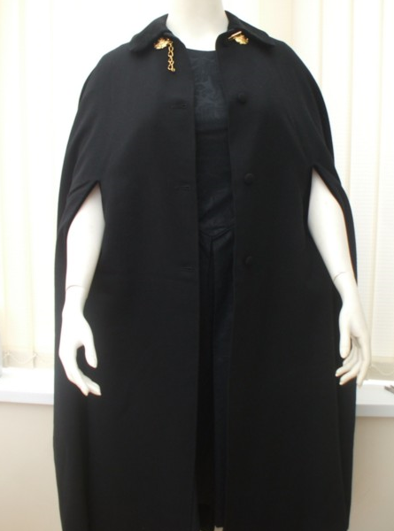 It's On Ebay: Evening cape by the legendary Gieves & Hawkes.
