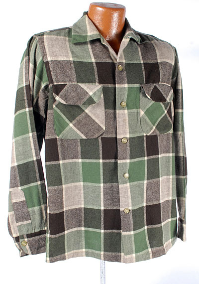 It's On Ebay: What a beautiful plaid on this vintage Pendleton shirt
