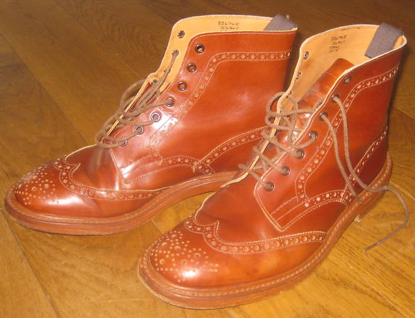 It's On Ebay: Trickers Brogue Boots