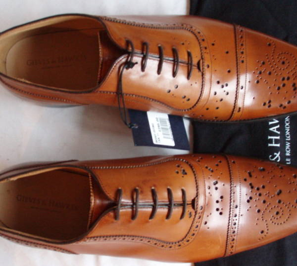 "It's On Ebay: Gieves & Hawkes ""Buckshot"" Oxfords"