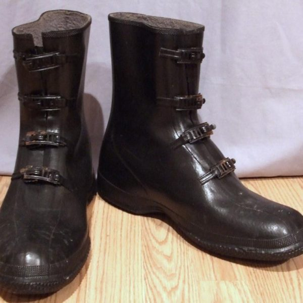 It's On Ebay - Vintage Rubber Overshoes