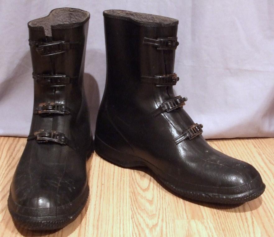It's On Ebay - Vintage Rubber Overshoes