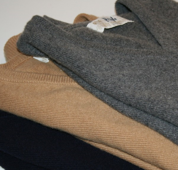It's On Ebay - Three Pringle cashmere sweater vests