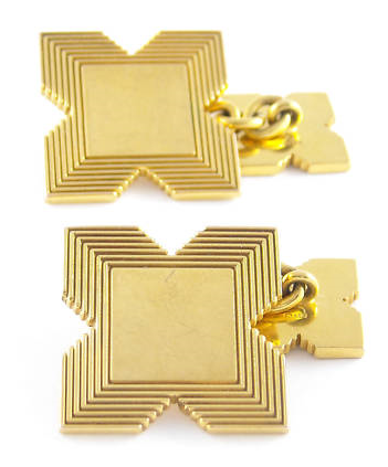 It's On Ebay: Gold Garrard Cufflinks