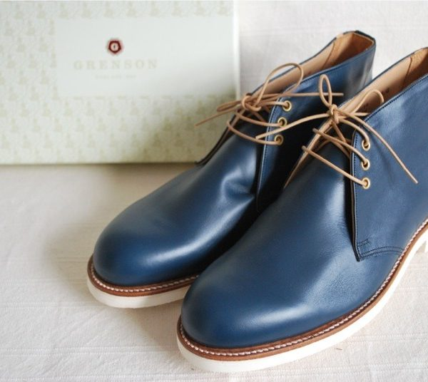 It's On Ebay - Grenson Chukkas in Navy