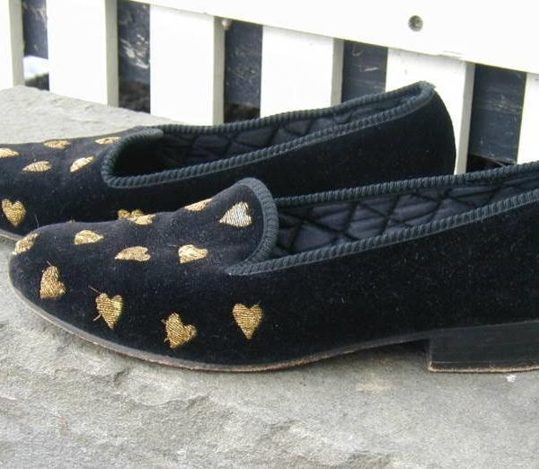 It's On Ebay: Berk velvet slippers