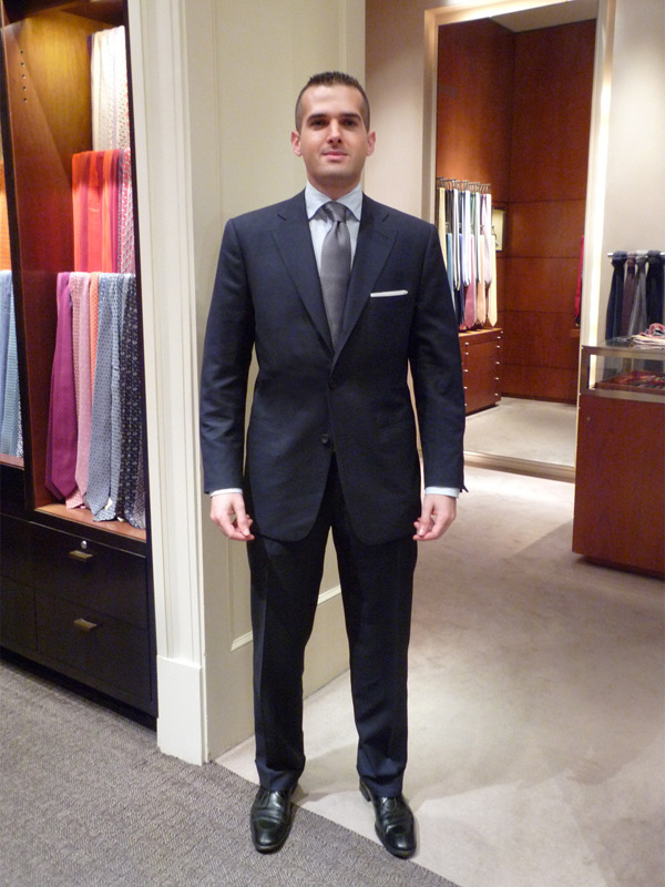 Young men can benefit from bespoke clothing