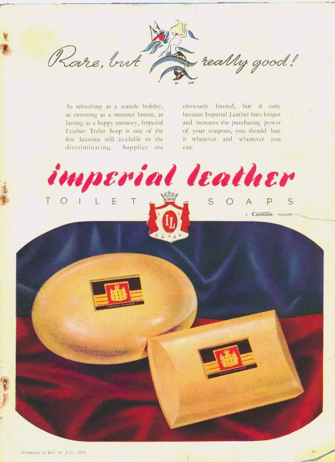 Image result for Imperial leather soap 1950s
