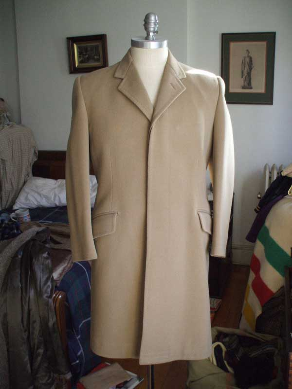 It's On eBay: Huntsman Covert Coat (Dated 1963)