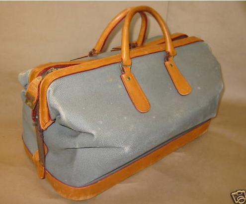 It's On eBay: Swaine Adeney Brigg Overnight Bag
