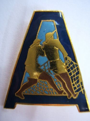 Beautiful enamel insignia from the French military at The Trad