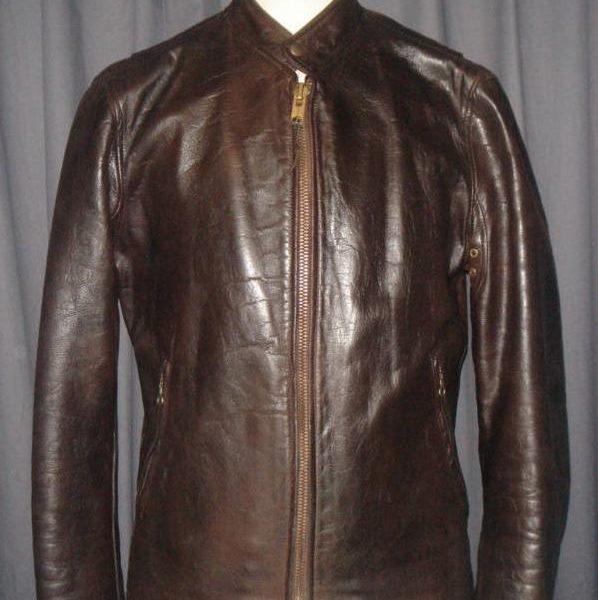 It's On eBay - Vintage ca. 1930s cafe racer-style leather jacket