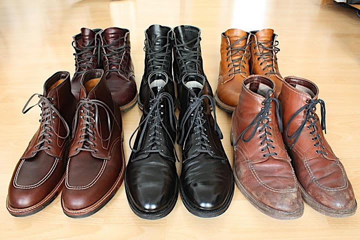 Alden Indy Boots. That's what the f*&k is up.