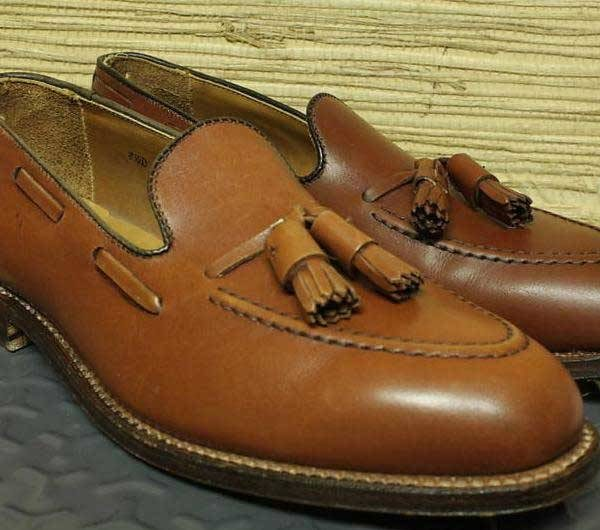 It's On eBay: Brooks Brothers Tassel Loafers, Size 8 ½ D
