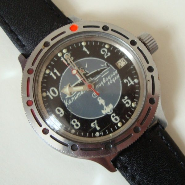 A beautiful communist-era Russian diving watch by Volstok on Hodinkee