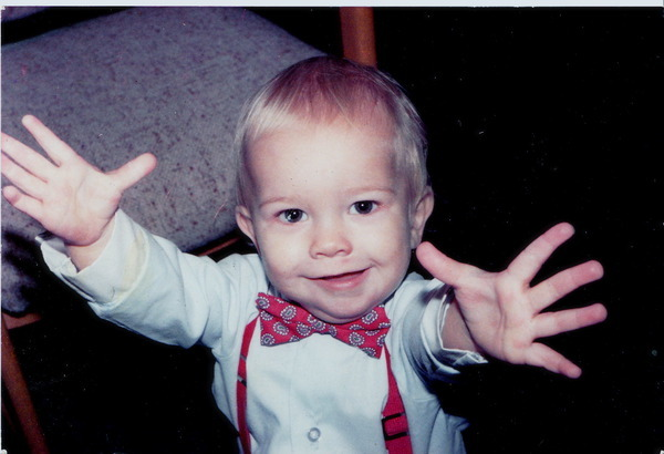 """""""I was a classy toddler."""""""