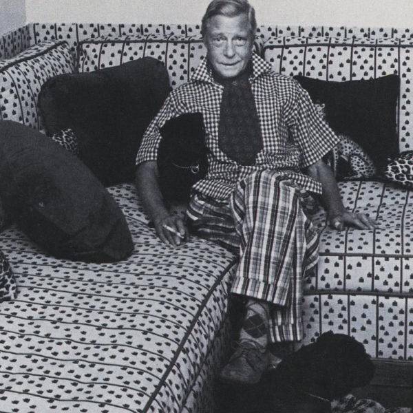 The late Duke of Windsor relaxing