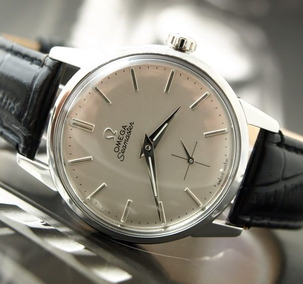 Yeah, a mid-century Omega Seamaster is a nice watch.