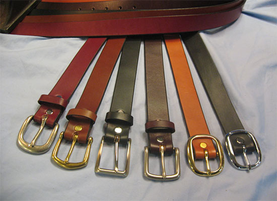 Q and Answer: Belts