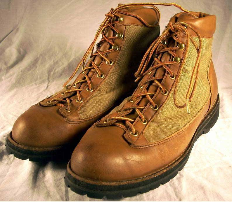 It's On eBay: Vintage Danner Hunting Boots (Sz. 12)