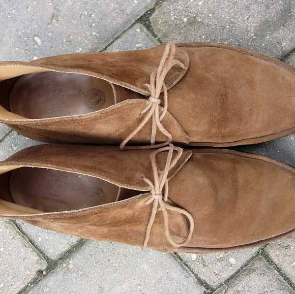 It's On eBay: Alfred Sargent Suede Chukka Boots