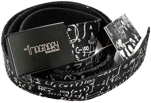 The Imaginary Foundation's chalkboard belt