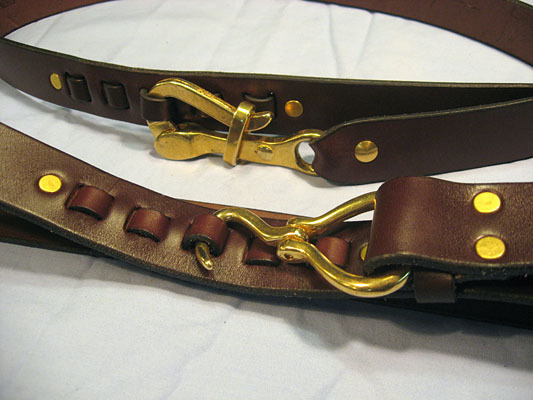 Pelican hook belt from Narragansett Leathers