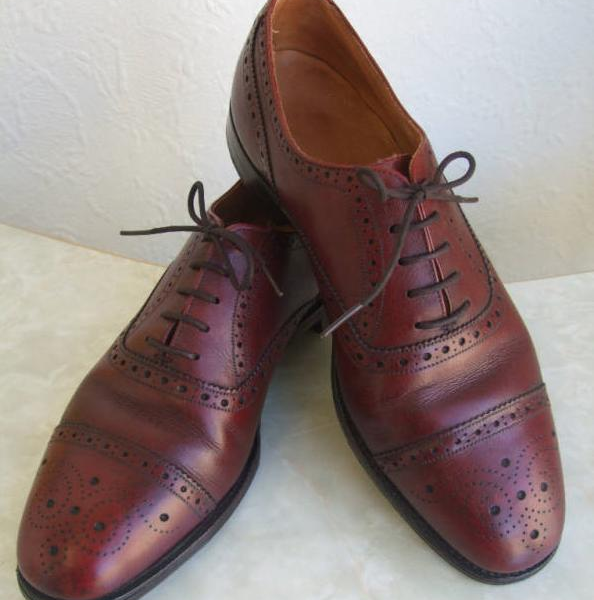 It's On eBay: Poulson Skone Cap-Toe Brogues