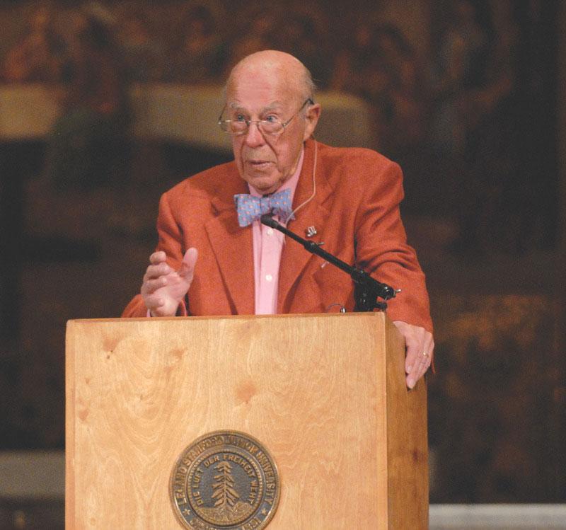 Former Secretary of State George Schultz