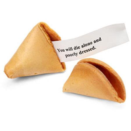 Evil fortune cookies