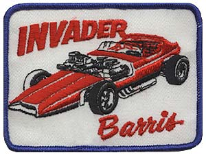 Vintage Barris Kustom Industries patch from Barris.com