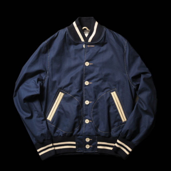 This beautiful varsity jacket is made by San Francisco's Golden Bear Sportswear