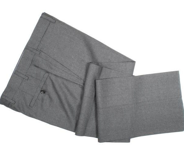 It's On Sale: Howard Yount Tropical-Weight Wool Pants in Mid-Gray