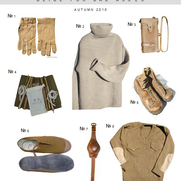 Khaki: Beige for Badasses, from Hollister Hovey