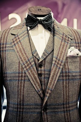 Permanent style :: Huntsman tweed suit: Part 1