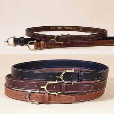 Some lovely made-in-the-USA belts from Tory Leather