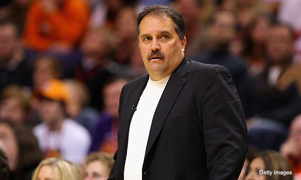 Stan Van Gundy, measured for some custom suits