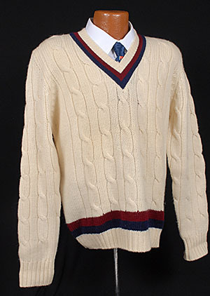 It's On eBay Brooks Brothers Tennis Sweater