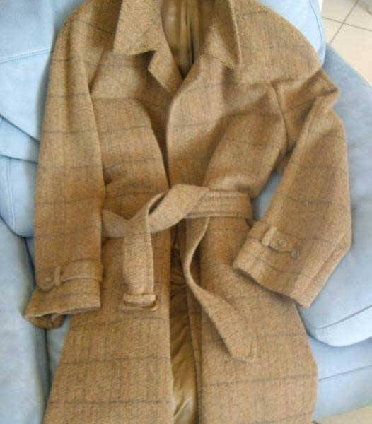It's On eBay: Sulka Wool-Cashmere Overcoat