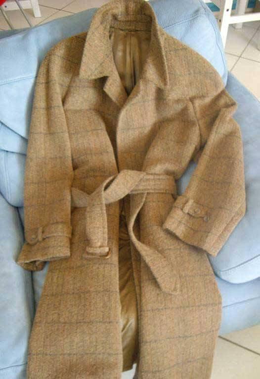 It's On eBay: Sulka Wool-Cashmere Overcoat