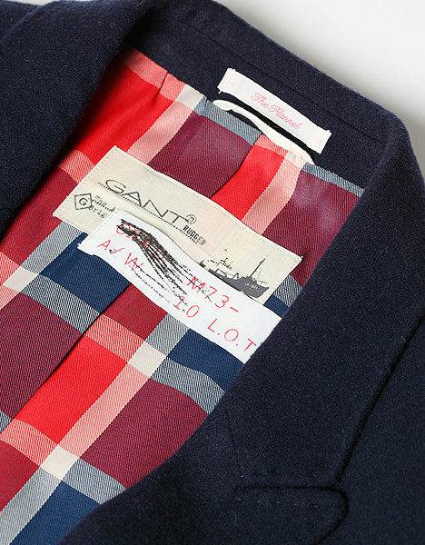 Gant Rugger used a time machine of some kind to bite my steez