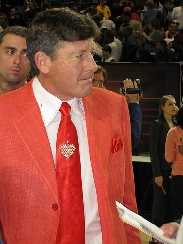 Craig Sager's Suit FLASHBACK
