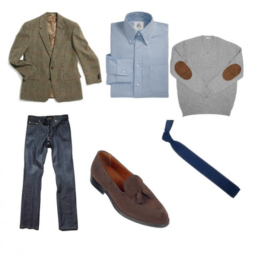 A simple and elegant fall casual look