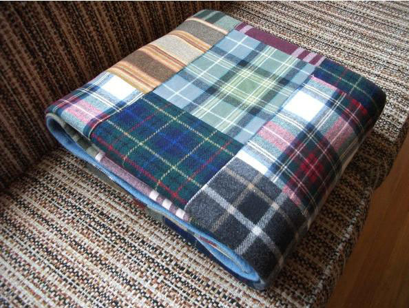 A lovely Pendleton patchwork blanket