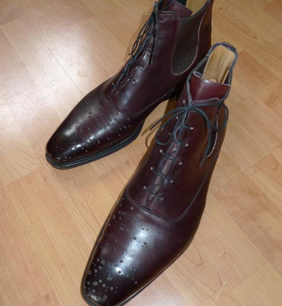 It's On eBay: Gieves Buckshot Boots